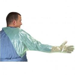 Kruuse Krutex Soft rękawiczki weterynaryjne rektalne z ochraniaczem