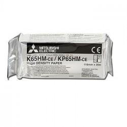 Mitsubishi K65HM papier do videoprintera błyszczący 110mmx20m