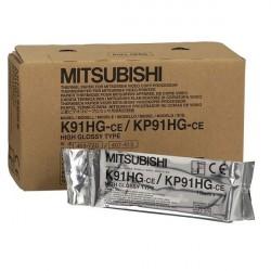Mitsubishi K91HG papier do videoprintera błyszczący 110mmx18m