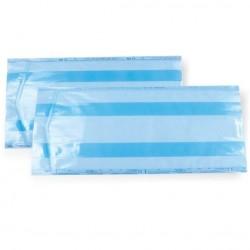 BOM torebki do sterylizacji, foliowo-papierowe z fałdą 100 szt.