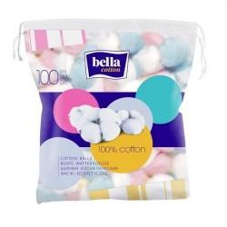 Bella Cotton Kolorowe waciki kosmetyczne 100 szt.