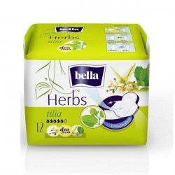 Bella podpaski higieniczne Herbs wzbogacone kwiatem lipy