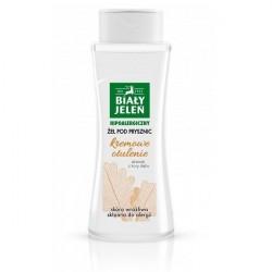 Biały Jeleń żel pod prysznic z korą dębu, kremowy 250 ml