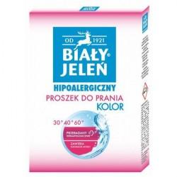 Biały Jeleń proszek do prania kolorów, hipoalergiczny