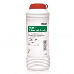 Ecolab Actichlor Granules proszek do zasypywania krwi i wydzielin 500g