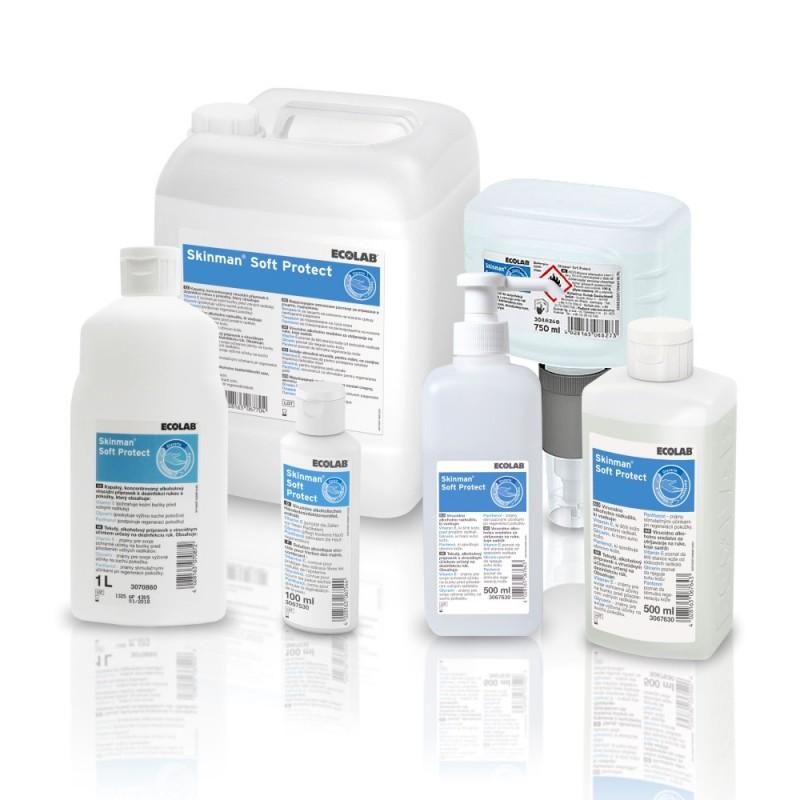 Ecolab Skinman Soft Protect do dezynfekcji rąk