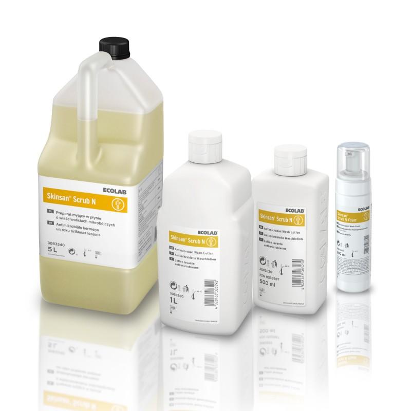 Ecolab Skinsan Scrub N płyn do mycia całego ciała