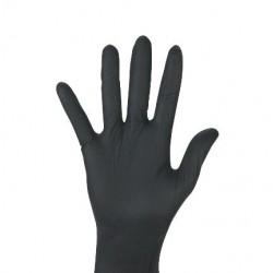 Rękawiczki ochronne nitrylowe Ambulex Nitryl czarne, niesterylne 100szt.