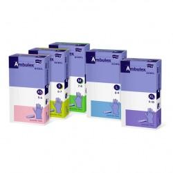 Rękawiczki jednorazowe ochronne nitrylowe Ambulex Nitryl fioletowe, niesterylne 100szt.