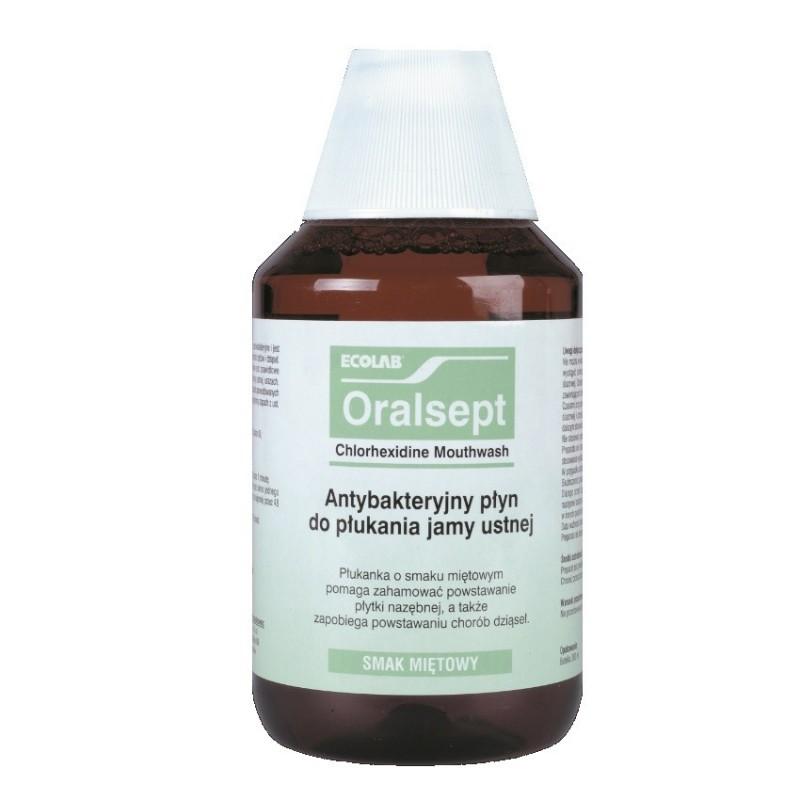 Ecolab Oralsept Płyn do płukania jamy ustnej i gardła