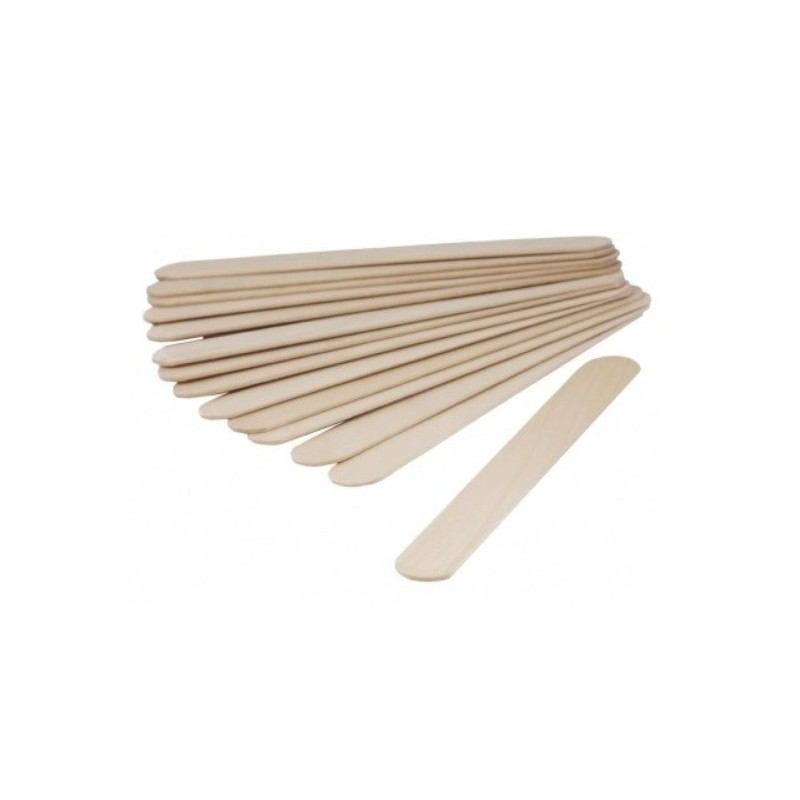 Szpatułki laryngologiczne drewniane niajałowe