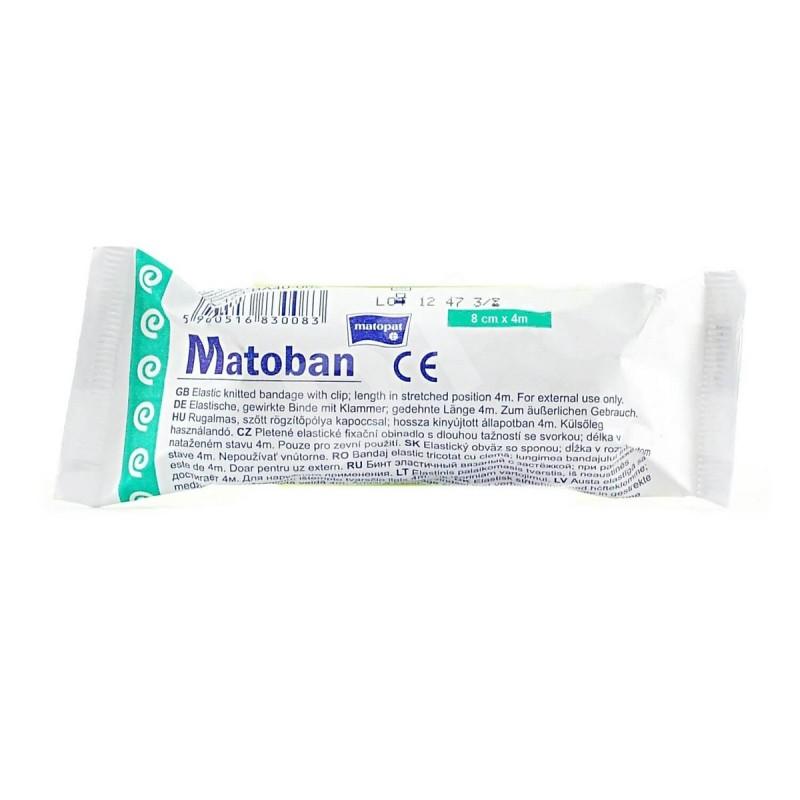 Matoban bandaż elastyczny, podtrzymujący z zapinką, wielorazowy