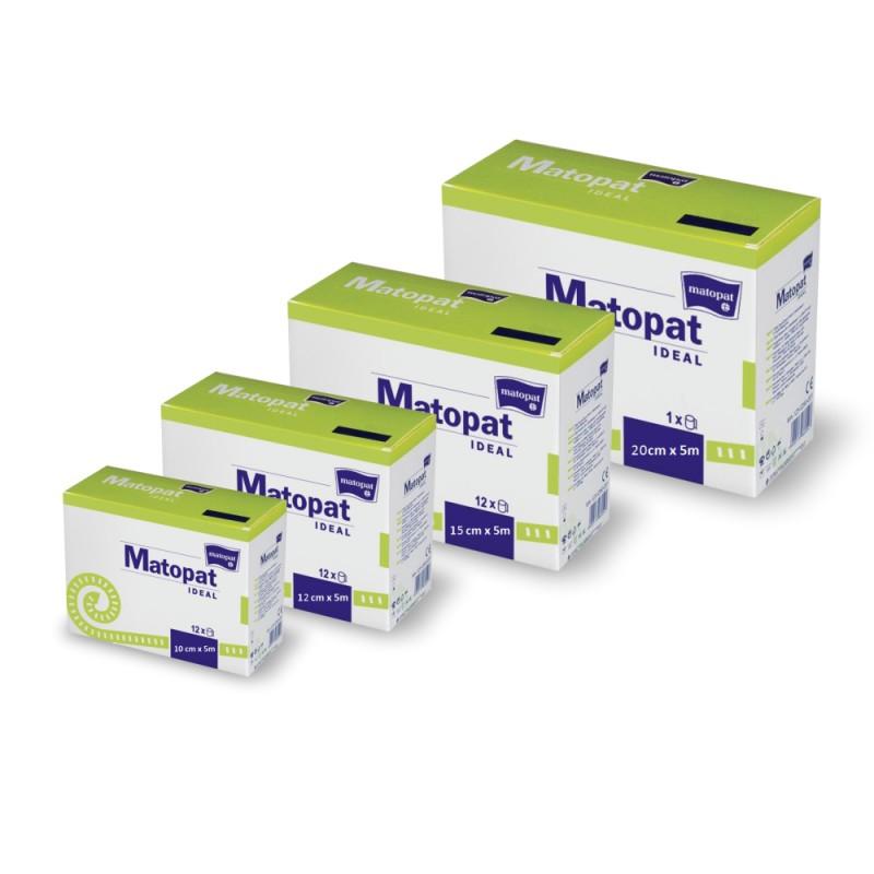 Matopat Ideal bandaż elastyczny, uciskowy z zapinką, wielorazowy