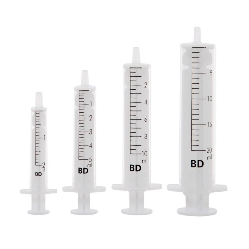 BD Discardit strzykawka 2-częściowa, luer