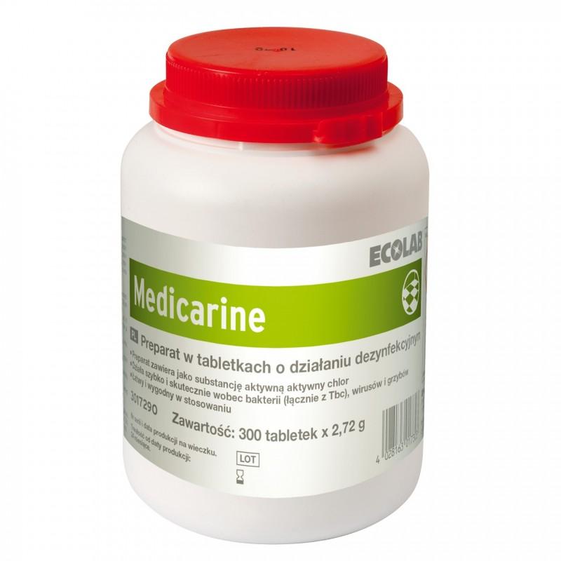 Ecolab Medicarine tabletki do dezynfekcji powierzchni 300 tabl.