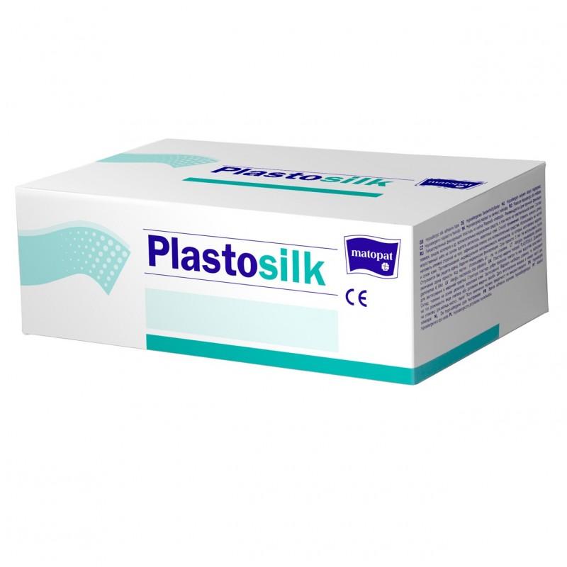 Plastosilk przylepiec specjalistyczny, na jedwabiu, hipoalergiczny