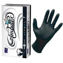 Rękawiczki ochronne nitrylowe Ambulex Nitryl czarne, niesterylne