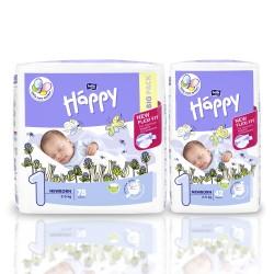 Bella Baby Happy pieluszki New Flexi Fit Newborn (1) 2-5 kg