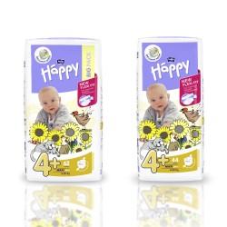 Pieluszki Bella Baby Happy New Flexi Fit Maxi Plus (4+) 9-20 kg