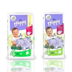 Pieluszki Bella Baby Happy New Flexi Fit Maxi (4) 8-18 kg