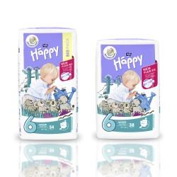 Pieluszki Bella Baby Happy New Flexi Fit Junior Extra (6) 16+kg