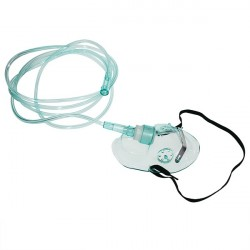 Maska/wąsy do podawania tlenu dla dorosłych z drenem