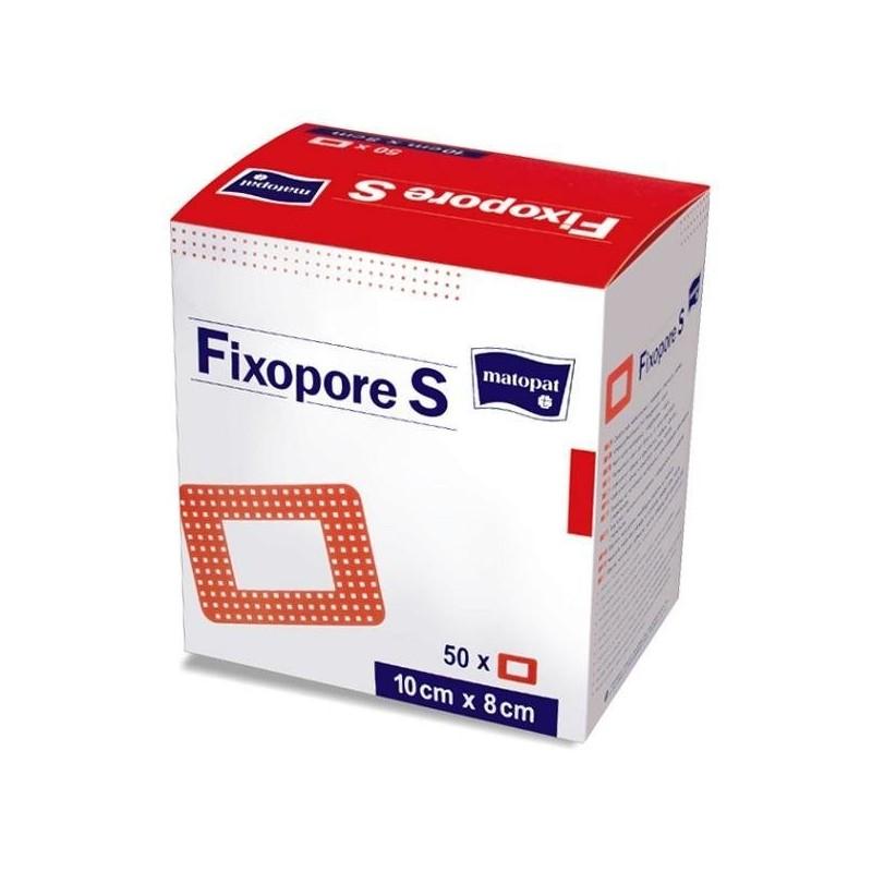 Fixopore S opatrunek samoprzylepny z wkładem chłonnym, włókninowy
