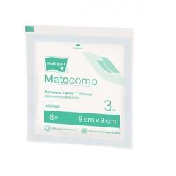 Matocomp kompresy z gazy jałowe - indywidualne pakowanie