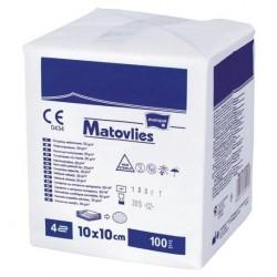 Matovlies kompresy z włókniny niejałowe 100 sztuk