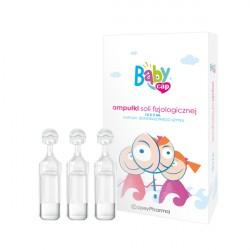 BabyCap Ampułki soli fizjologicznej 10 x 5 ml