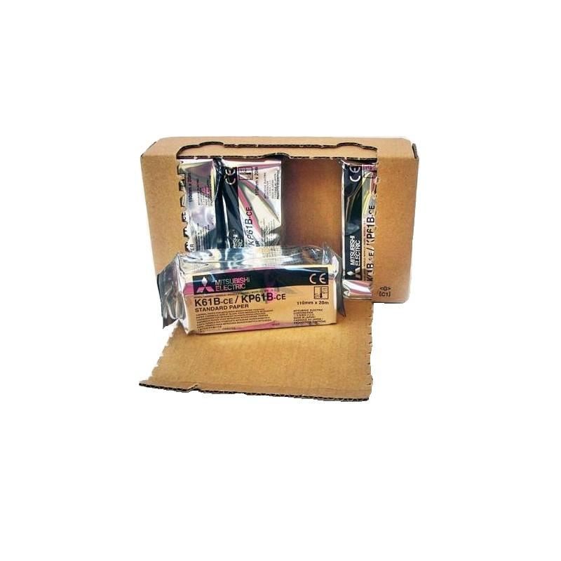 Mitsubishi K61B papier do videoprintera matowy 110mmx20m