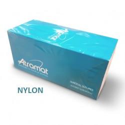 Atramat Nylon 5/0 nici chirurgiczne niewchłanialne, czarne