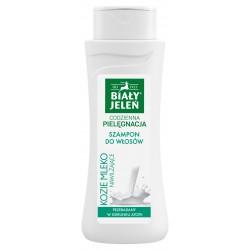 Biały Jeleń szampon do włosów Kozie Mleko 300ml