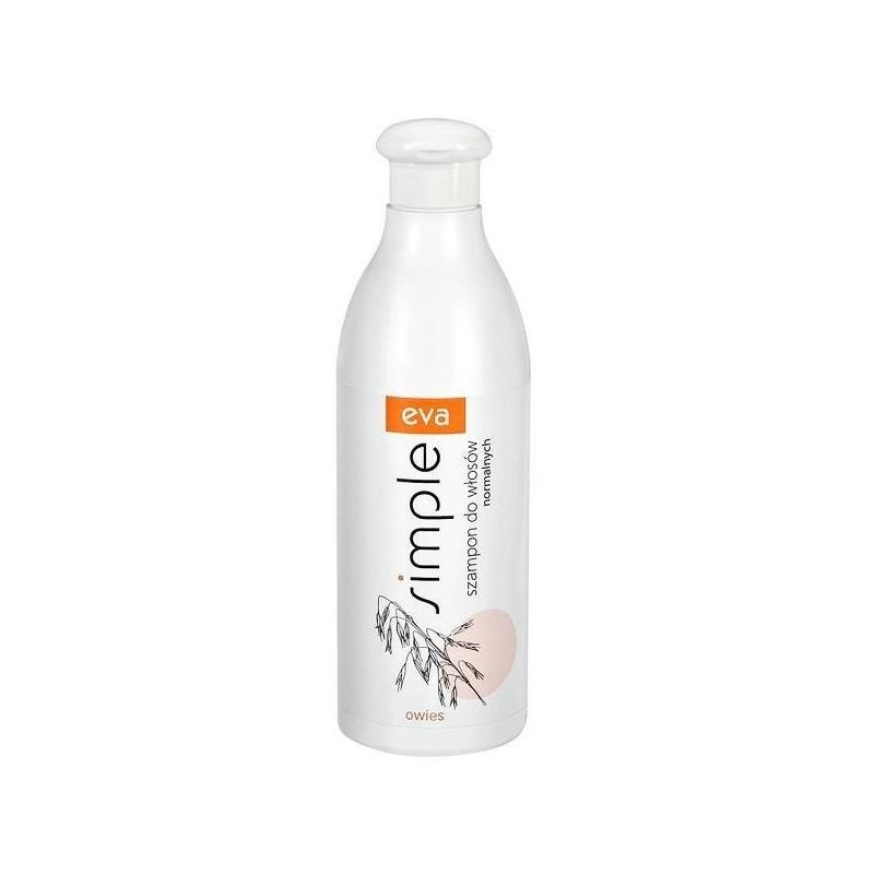 Szampon do włosów normalnych z owsem Eva Simple  500 ml