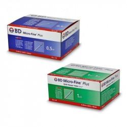 BD Micro-Fine Plus strzykawka insulinowa z igłą