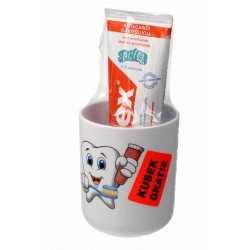 Elmex Junior Pasta do zębów 75 ml dla dzieci 5-12 lat + kubek gratis