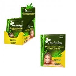 Herbalex Plastry oczyszczające z konopiami 2 szt.