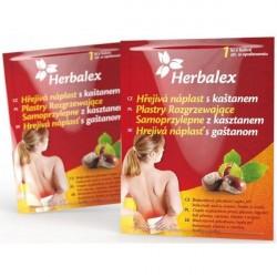 Herbalex Plaster rozgrzewający samoprzylepny z kasztanem