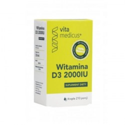 WITAMINA D3 2000IU Krople VitaMedicus 29,4 ml