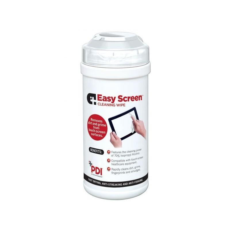 PDI Easy Screen Chusteczki do mycia ekranów i pulpitów dotykowych urządzeń elektronicznych 100 szt.