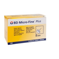 BD Micro-Fine Plus Igły do pena