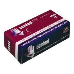 Comfeel rękawiczki stomatologiczne lateksowe, miętowe, niesterylne 100 szt.