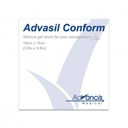 Advasil samoprzylepny opatrunek silikonowy do leczenia blizn