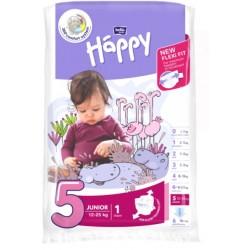 Pieluszki Bella Baby Happy New Flexi Fit Junior (5) 12-25 kg