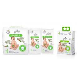 Pieluchomajtki dla dzieci Happy Pants Maxi (4) 8-14 kg
