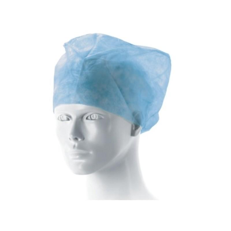 Matodress czepek ochronny, lekarski z gumką jałowy