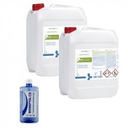 2x Desam Spray Płyn do dezynfekcji powierzchni 5L + GRATIS Bioseptol 80 Płyn do dezynfekcji rąk 500 ml