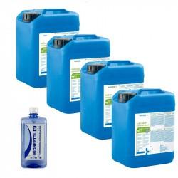 4x Mikrozid Universal Liquid płyn do dezynfekcji powierzchni  5 L + GRATIS Bioseptol 80 Płyn do dezynfekcji rąk 500 ml