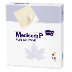 Medisorb P Plus Adhesive samoprzylepny opatrunek na rany