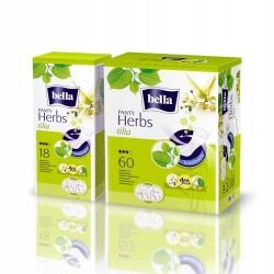 Bella Herbs Panty, wkładki higieniczne z kwiatem lipy